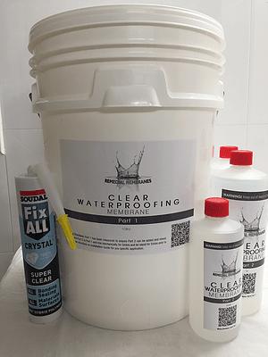 10Ltr Wallpaper Waterproofing Kit