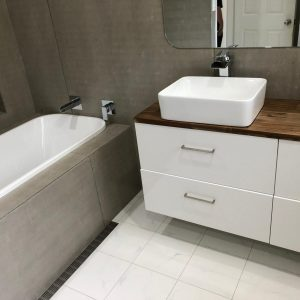 bathroom completed