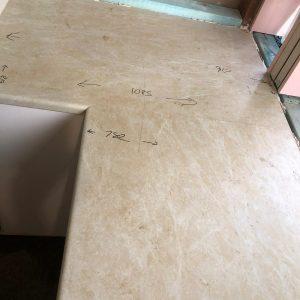 old laminate kitchen bench top