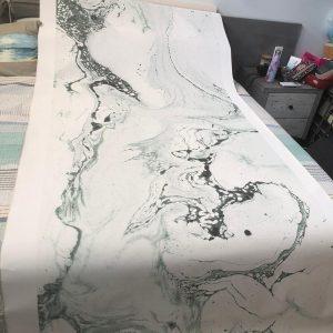 custom wallpaper arrived