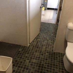 Room was a washroom/laundry where you can wash your hands. customer wanted to change it into a bathroom.