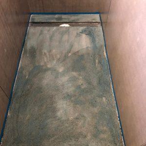 Prime the Screed before waterproofing